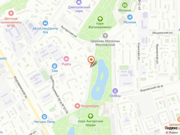 Остановка Храм Матроны Московской в Москве