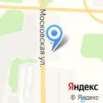 Львовский на карте Подольска