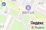 Схема проезда до компании Люкс-Дизайн в Москве