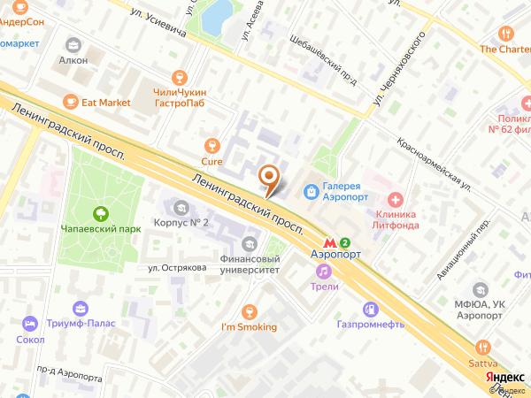 Остановка М А Д И - Финансовый университет в Москве