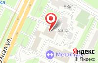 Схема проезда до компании Аюо Прогресс в Москве