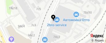 Peugeot Citroen на карте Москвы