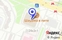 Схема проезда до компании ВАСИЛЬЕВ И.Н. в Москве