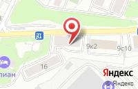 Схема проезда до компании Авантаж Сервис в Москве