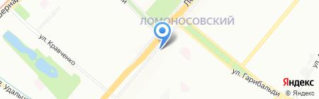 Азбука вкуса на карте Москвы
