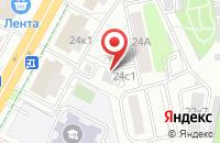Схема проезда до компании Бриг в Москве
