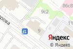 Схема проезда до компании Диана-Трест в Москве