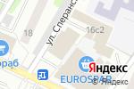 Схема проезда до компании Церковная лавка на Часовой в Москве