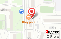 Схема проезда до компании Альянс-М в Москве
