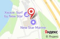 Схема проезда до компании Нью Стар Марин в Долгопрудном