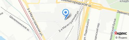 АкваСильвер на карте Москвы