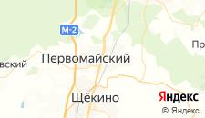 Отели города Первомайский на карте