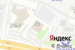 Схема проезда до компании Сервисный центр 21 век в Москве