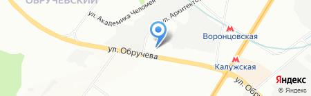 Автокомбинат №12 на карте Москвы