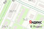 Схема проезда до компании Котофей в Москве