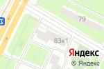 Схема проезда до компании Карфидов Лаб в Москве