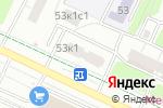 Схема проезда до компании РемЖилСервис в Москве