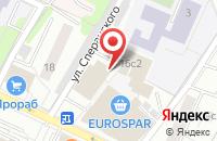Схема проезда до компании Еврострой в Москве