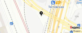 Гормост, ГБУ на карте Москвы