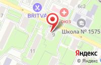 Схема проезда до компании Валькирия в Москве