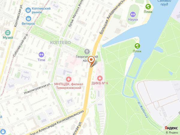 Остановка Роддом № 27 в Москве