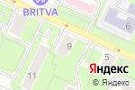 Схема проезда до компании Микс Style в Москве