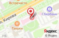 Схема проезда до компании Подольская городская поликлиника №1 в Подольске