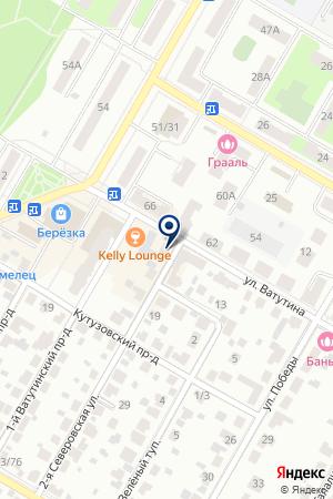 МАГАЗИН АВТОЗАПЧАСТЕЙ БЛЕСК на карте Подольска