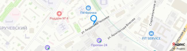 улица Академика Челомея