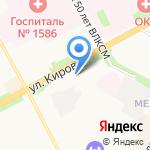 Онкологический диспансер на карте Подольска