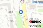 Схема проезда до компании Паллет-Сервис в Москве
