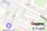 Схема проезда до компании Алеф Электро в Москве