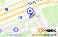 Схема проезда до компании ДИЗАЙНЕРСКАЯ ФИРМА ДЕЛЬТА в Москве