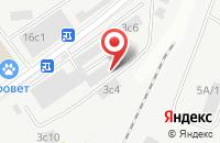 Схема проезда до компании Инжсетьстрой в Москве