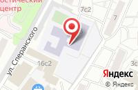 Схема проезда до компании Научно-Производственная Фирма  в Москве