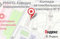 Схема проезда до компании Армро в Москве