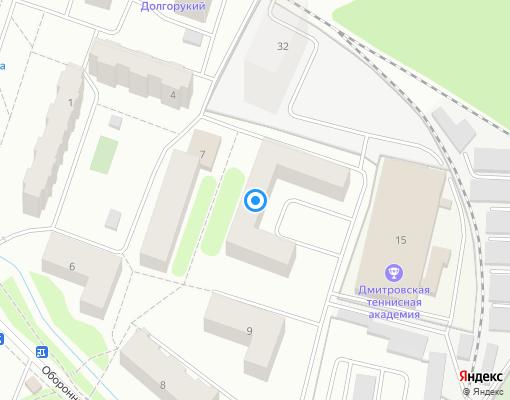 Товарищество собственников жилья «НОВЬ-10» на карте Дмитрова