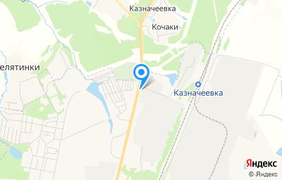 Местоположение на карте пункта техосмотра по адресу Тульская обл, Щекинский р-н, рп Первомайский, ул Административная, д 17В