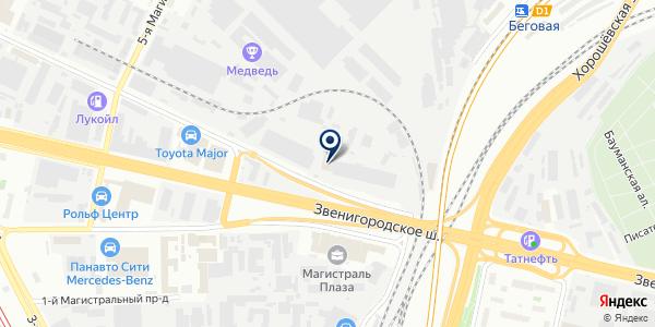 ТФ АВТ на карте Москве