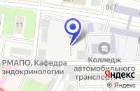 Схема проезда до компании ПТФ ЛАЕН-Н в Москве