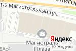 Схема проезда до компании Бертон в Москве