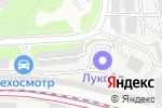 Схема проезда до компании Автостоянка на ул. Космонавта Волкова в Москве