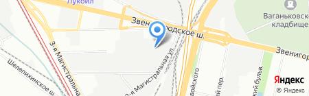 ИнформПортал на карте Москвы