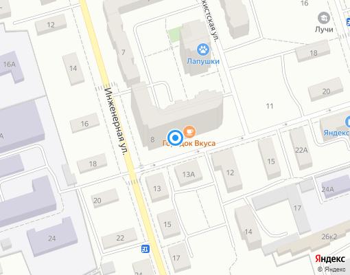 Управляющая компания «Славянская» на карте Дмитрова