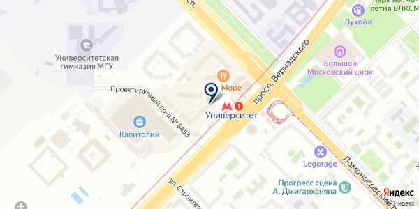 Wolf на карте Москве