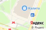 Схема проезда до компании Книжный Лабиринт в Москве