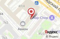 Схема проезда до компании Булгар-Интертур в Москве