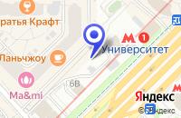 Схема проезда до компании ОБУВНОЙ МАГАЗИН SHELLY в Москве