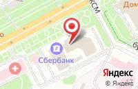 Схема проезда до компании Промсбербанк в Подольске