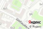 Схема проезда до компании Monster Audio Club в Москве